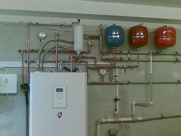 Монтаж отопления, напольного, настенного, радиаторного и внутреннего водопровода. Установка тепловых
