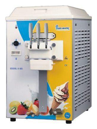 Изготовление мягкого мороженого