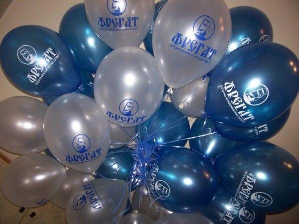 Печать на воздушных шарах, подготовка шаров к рекламной раздаче.