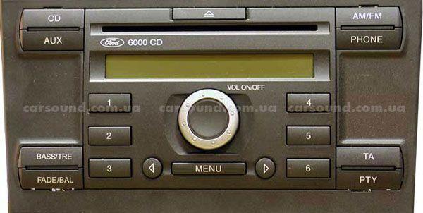 Цифровой cd-рессивер ford