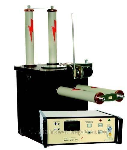 Установка для испытания снч кабеля ав-60 -0.1