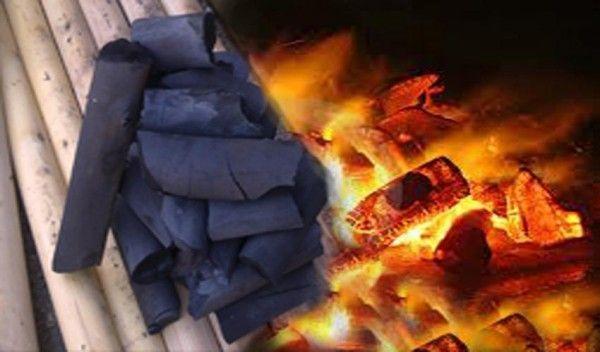 Уголь для жарки шашлыка из берёзы