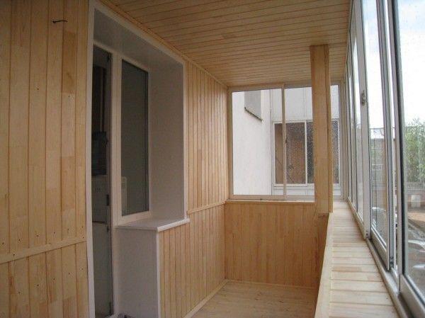 Обшивка + утепление балконов и лоджий в г. уфе