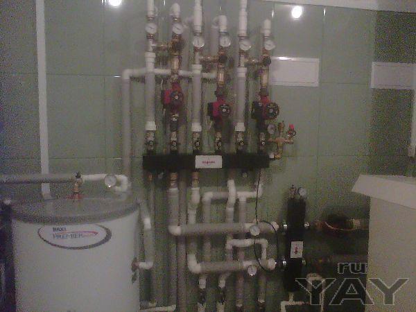 Отопление , водопровод канализация