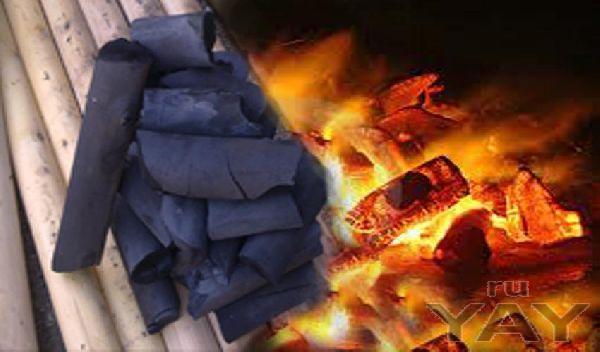 Древесный уголь для жарки шашлыка из берёзового карандаша