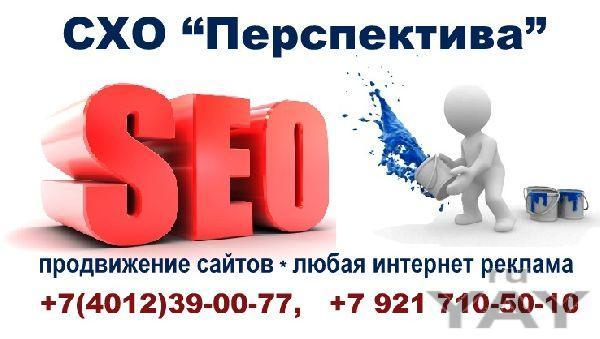 Создание сайтов. продвижение любая интернет реклама.