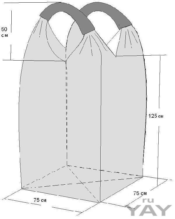 Биг бэг мягкий контейнер мешки производство цена биг-бег big bag fibc