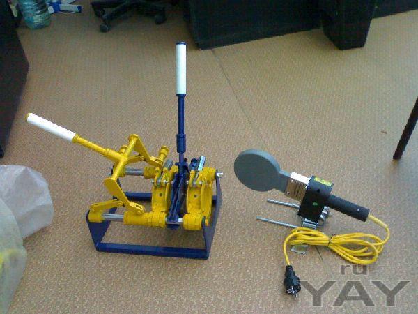 Успт 50-110 сварочный аппарат для сварки пластиковых труб и фитингов