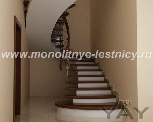 Железобетонные лестницы для дома и офиса на заказ