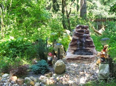 Декоративный искусственный водопад