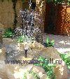 Декоративные искусственные фонтаны