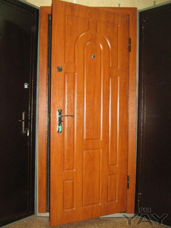 Двери новые, квартирные противовзломные, металлические и противопожарные