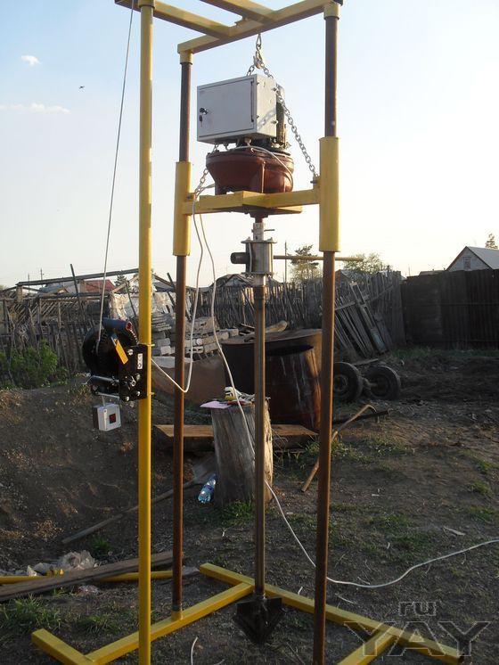 Малогабаритные буровые установки на воду
