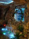 Декоративный искусственный водопад на заказ