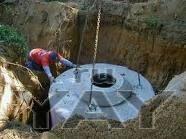Копка выгребной ямы для туалета. погреб «под ключ». рытьё траншей. земляные работы