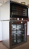 Печь конвекционная, шкаф расстоечный для выпечки