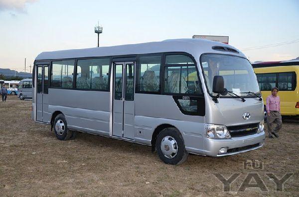 Автобус городского класса hyundai county