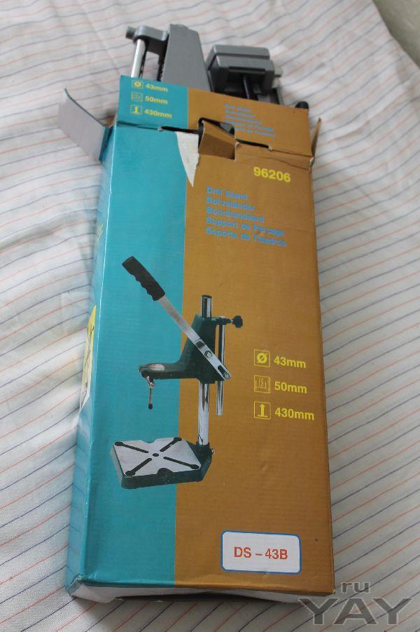Подставка для превращения ручной электродрели в сверлильный станок
