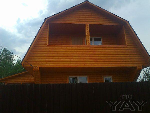 Новый дом из бруса под ключ