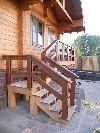 Лестницы. предметы интерьера, мебель. комплексная отделка деревянных домов