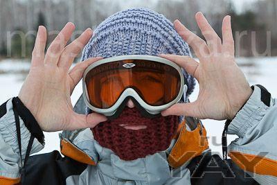 Тёплые и прикольные шапки с бородой