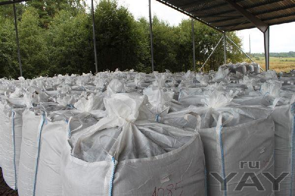 Линия производства удобрений из биомассы и озерных илов
