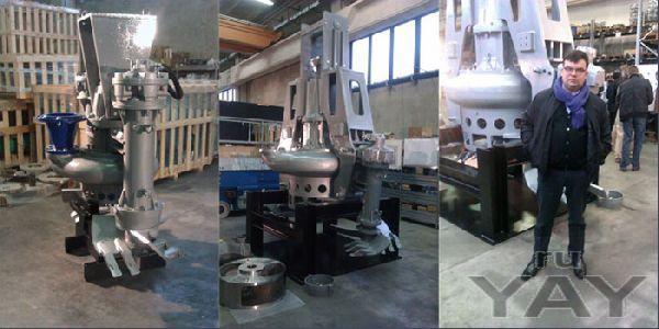 Добычное насосное оборудование для озерной соли и рапы