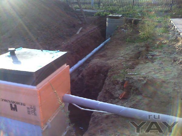 Реализация и монтаж систем автономной канализации