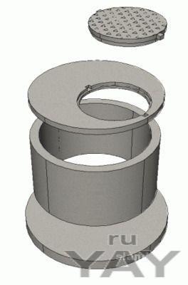 Железобетонные изделия: кольца колодезные