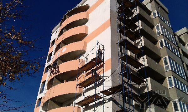 Декоративная штукатурка - (барашек, короед, дождик), покраска фасадов
