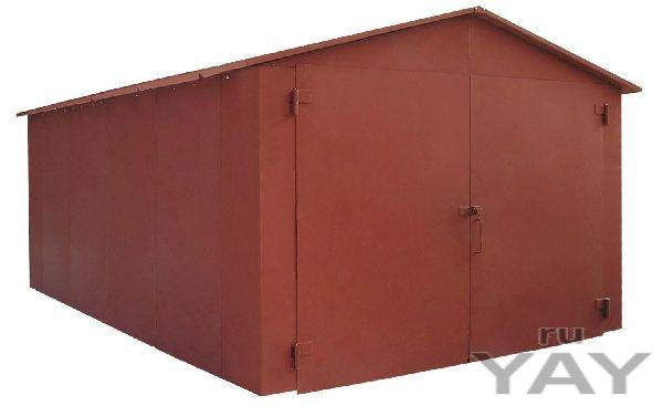 Продажа и изготовление металлических гаражей пеналов