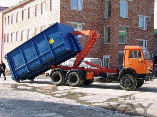 Предоставляем услуги по вывозу строительных и других негабаритных отходов.
