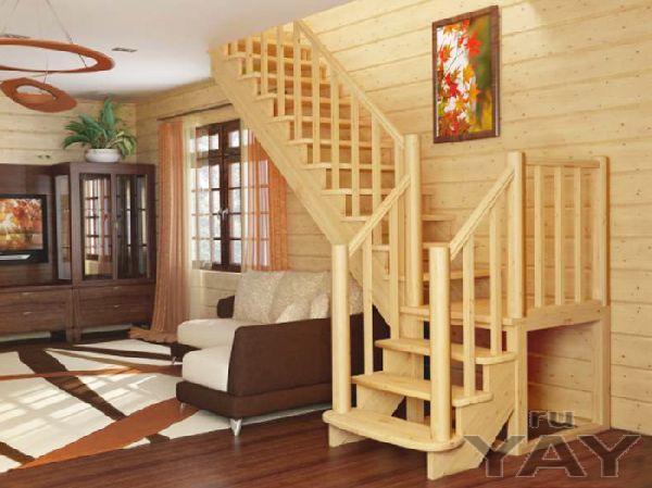 Лестница – необходимая деталь интерьера в доме с двумя и более этажами.