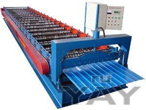 Оборудование для производства профнастила с8,с10 ,с21,hc35,н75 из китая