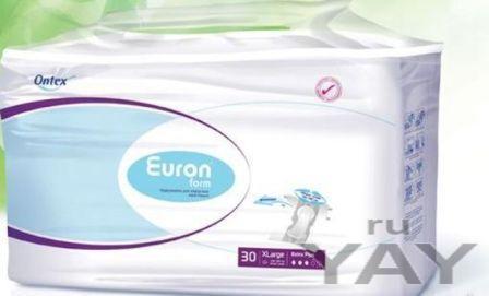 Подгузники для взрослых фирмы ontex