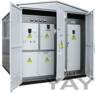 Комплектная трансформаторная подстанция наружной установки с трансформатором 2 ктпн