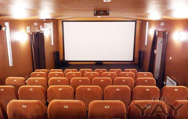 Открытие мини-кинотеатра на 10-120 мест