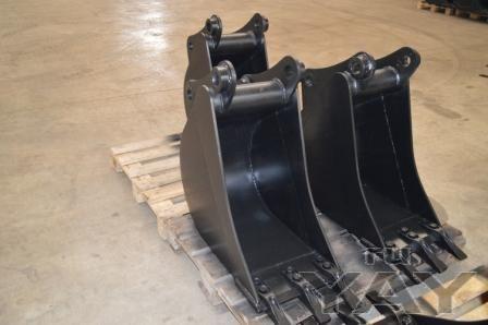 Ковши шириной 400 мм для экскаватора-погрузчика jcb 3cx/4cx, komatsu wb 93/97, terex 860