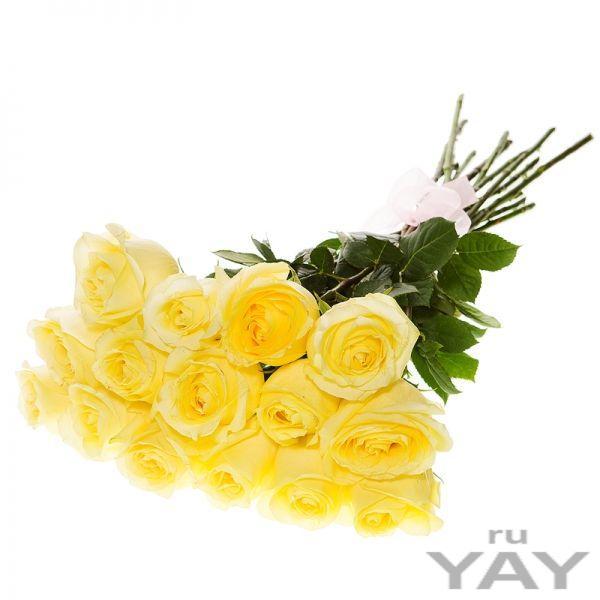 Букет роз (15 роз)  доставка