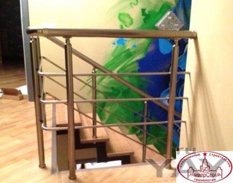Перила из анодированного алюминия.входные группы.ограждения балконов.