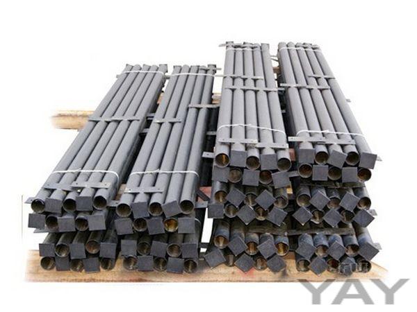 Металлические столбы, секции для забора