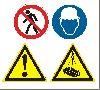 Знаки опасности по госту