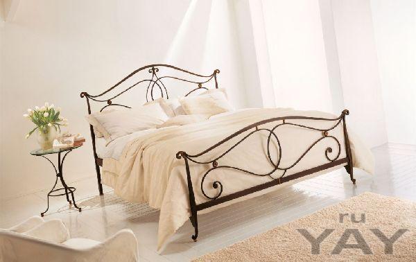 Кованые кровати ручной работы