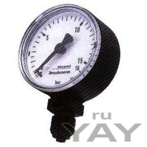 Манометр м38 к/м- а10 для клапанов понижения давления