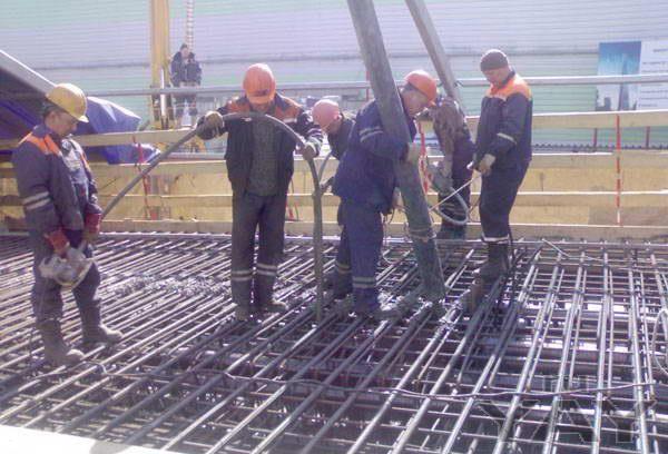 Требуются бетонщики-арматурщики