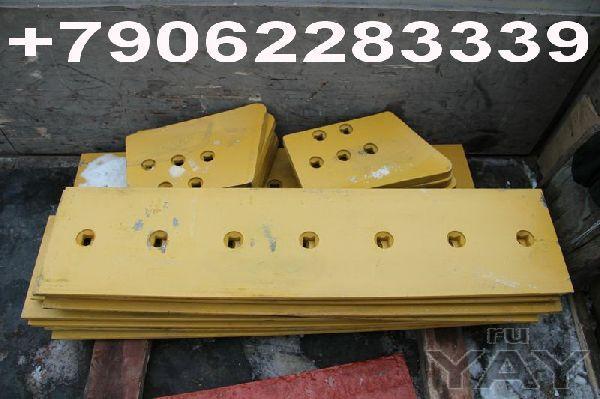Ножи отвалов бульдозеров и других строительных машин