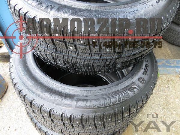 Зимние шипованные шины michelin для мерседес w221 бронированный