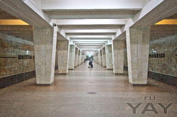 Освещение станций метро в нижнем новгороде
