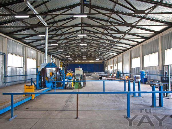 Освещение завода металлообработки «форнакс»