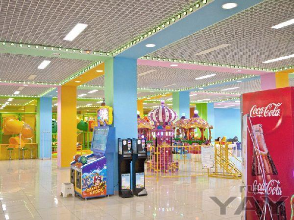 Светодиодное освещение торгового центра кенгуру, нижний новгород